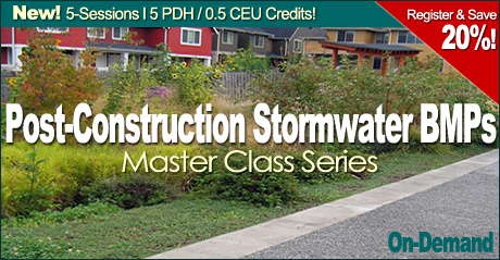 Post-Construction Stormwater BMPs